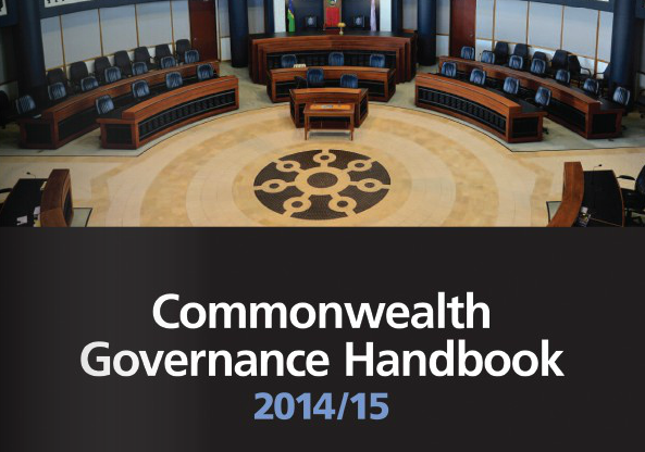 Elizabeth Daley and Lilli Loveday published in the new Commonwealth Governance Handbook.