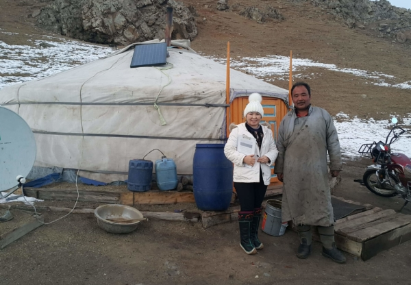 Mongolian herder families are being split between countryside and town