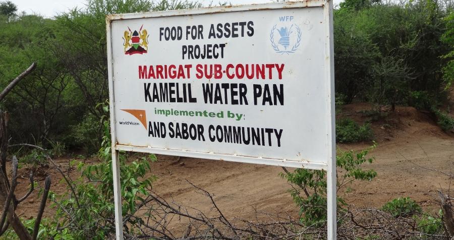 Evaluation of WFP Kenya Asset Creation Programme