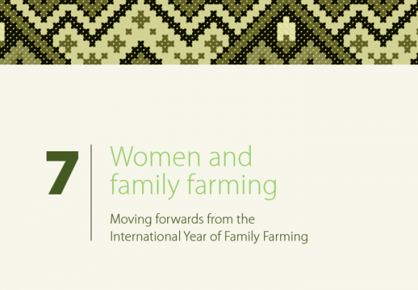 Elizabeth Daley published in new Land Coalition paper on women and family farming