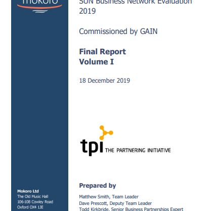 SUN Business Network Evaluation published