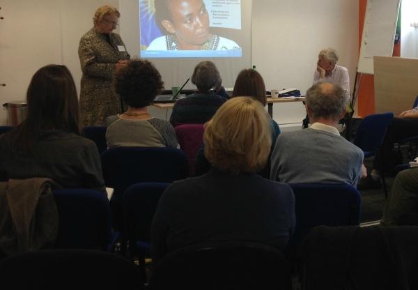 Fascinating presentation from Professor Shirley Randell