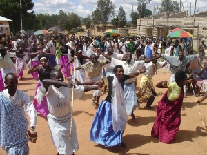 Community celebration of peace, unity and reconciliation. Source: SRIA Rwanda Ltd