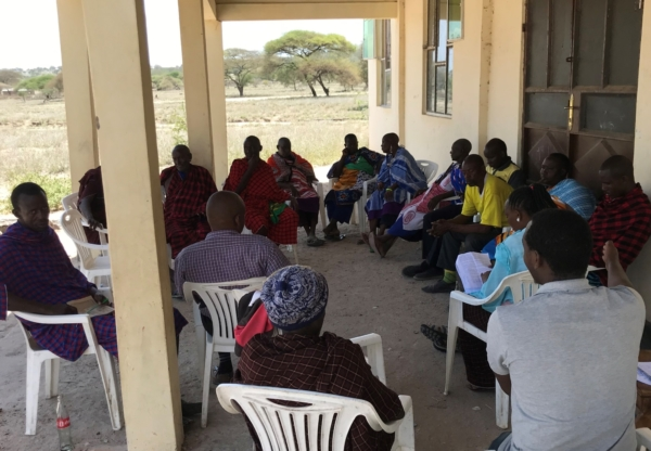Seats of power – women's land rights and chairs