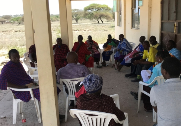 WOLTS Team Perspectives! Seats of power – women's land rights and chairs