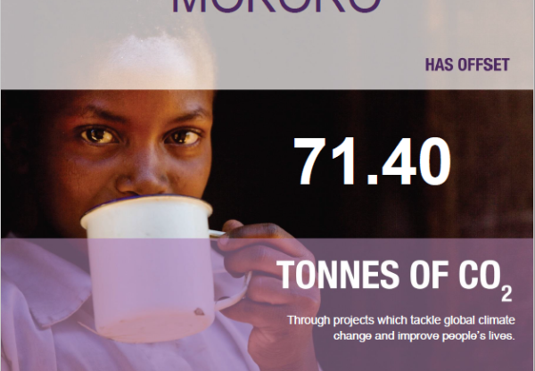 Mokoro partner with ClimateCare to offset emissions